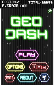 GeoDash poster