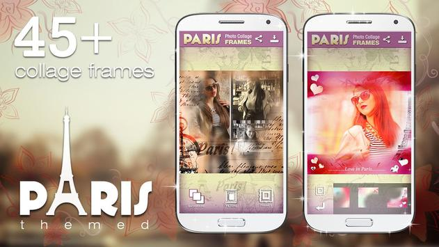 Paris Photo Collage Frames poster