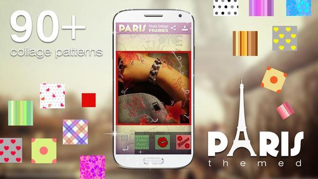 Paris Photo Collage Frames apk screenshot
