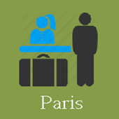 Paris Hotels and Flights icon