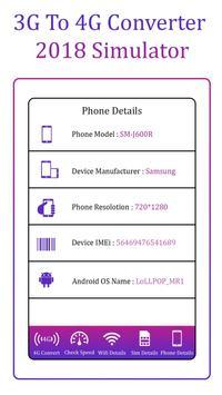 3G to 4G Convertor apk screenshot
