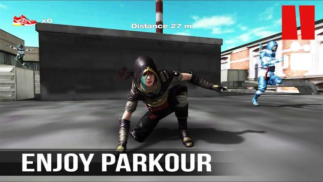 Parkour Assassin Vector PRO poster