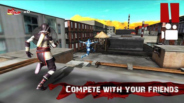 Parkour Ninja Samurai 3D apk screenshot