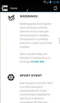 Party Bus For Atlanta ® screenshot 3