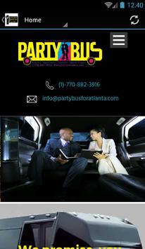 Party Bus For Atlanta ® screenshot 1