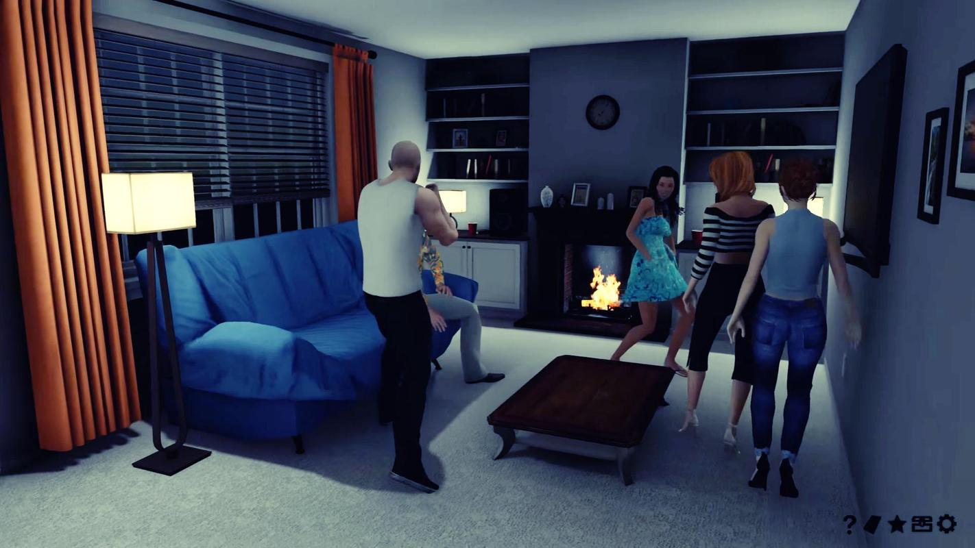 House party simulator poster house party simulator screenshot 1