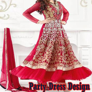 Party Dress Design poster