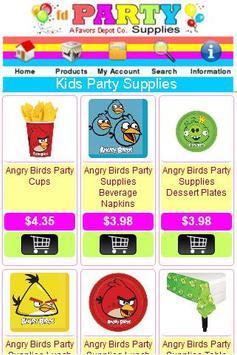 Party Supplies Shop apk screenshot