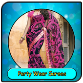 Party Wear Sarees icon