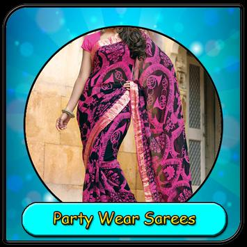 Party Wear Sarees poster