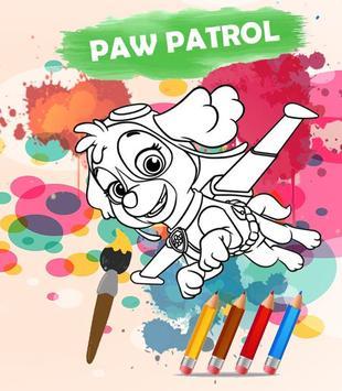 Coloring for Paw Patrol Game APK Download - Free Art & Design APP ...