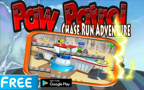 Paw Patrol Chase Run Adventure apk screenshot