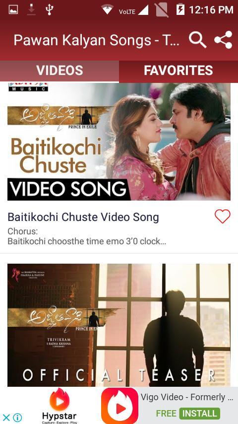 pawan kalyan all hit songs free download