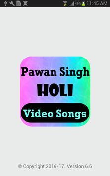 Pawan Singh Holi Video Songs poster