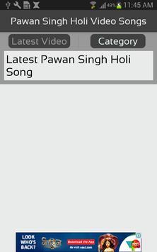 Pawan Singh Holi Video Songs screenshot 1