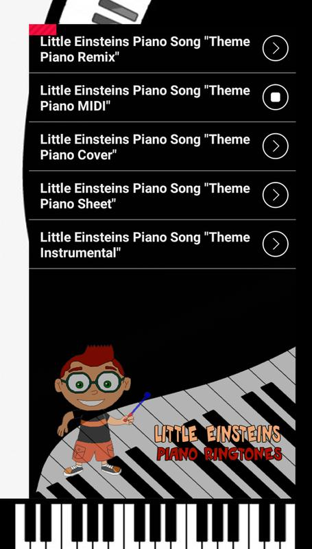 Little Einsteins Piano Ringtones For Android Apk Download