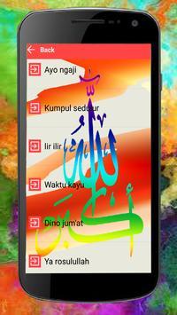 Lagu Jawa Islami Terbaik apk screenshot