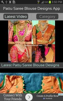 Pattu Saree Blouse Designs App apk screenshot