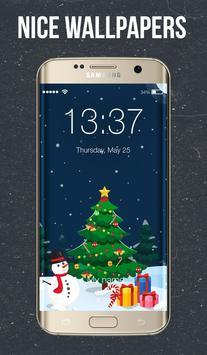 Christmas Tree Screen Lock poster