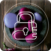 Dark Macarons Lock Screen icon
