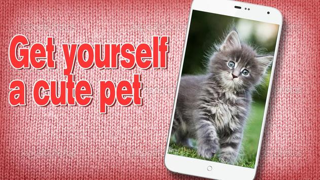 Pat the Kitty Simulator Pro apk screenshot