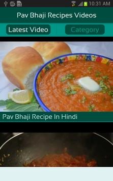 Pav bhaji recipes videos apk download free entertainment app for pav bhaji recipes videos poster pav bhaji recipes videos apk screenshot forumfinder Gallery