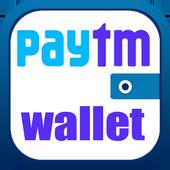 Paytm wallet recharge(money) icon