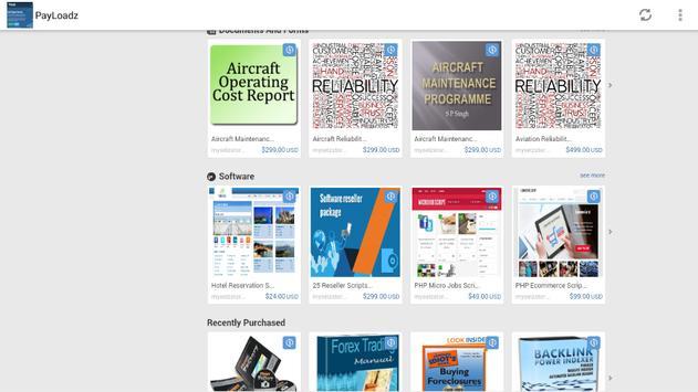 Payloadz Free Downloads screenshot 1