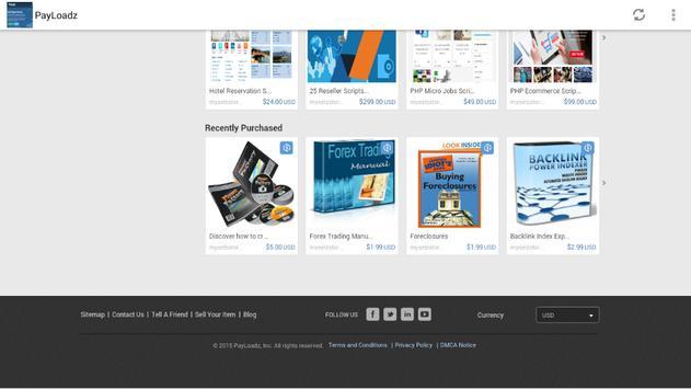 Payloadz Free Downloads screenshot 2