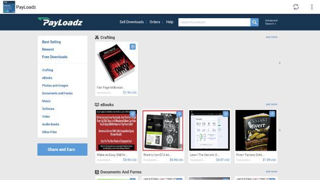 Payloadz Free Downloads screenshot 9