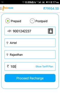 PaySim Recharge apk screenshot