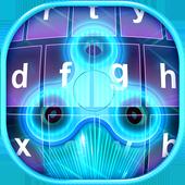 Hologram Fidget Spinner Keyboard Sim icon