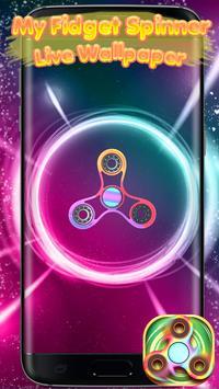 My Fidget Spinner Live Wallpaper screenshot 3