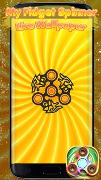 My Fidget Spinner Live Wallpaper screenshot 1
