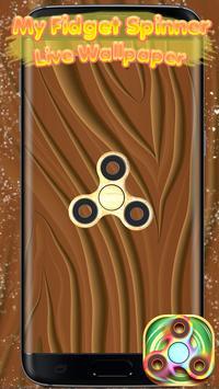 My Fidget Spinner Live Wallpaper screenshot 2