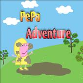 Pepa pig adventure jump icon