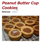 Peanut Butter Cup Cookies icon