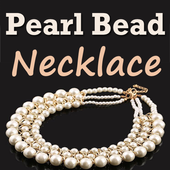 Pearl Beads Necklace Making icon