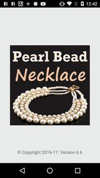 Pearl Beads Necklace Making poster