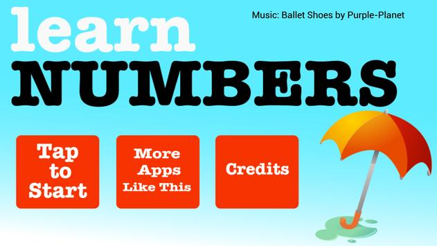 Learn Numbers poster