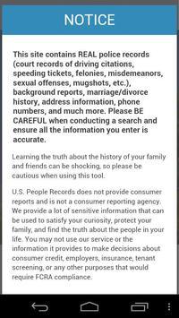 PeopleInspect apk screenshot