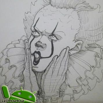 Best Pennywise Drawing Sketch screenshot 3