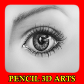 Pencil 3D Arts icon