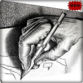 Pencil Drawings 3D icon