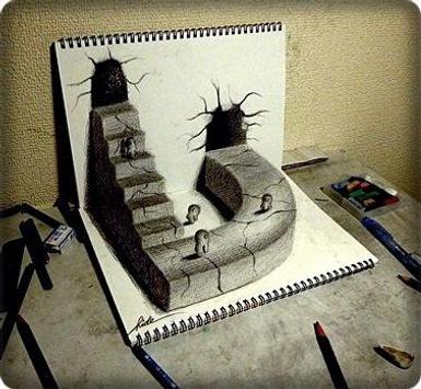 Pencil Drawings 3D screenshot 2