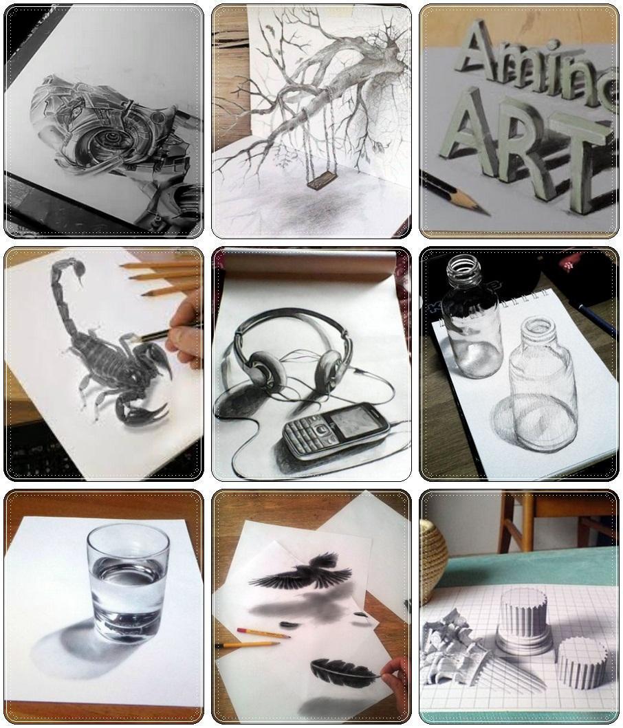 3d pencil sketches for beginners screenshot 3