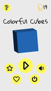 Colorful Cubes poster