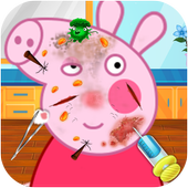 Peppy Skin Trouble Doctor Game icon