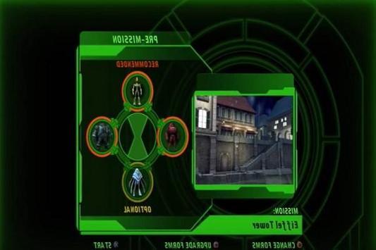 Tricks Ben 10 Ultimate Xenodrome screenshot 2