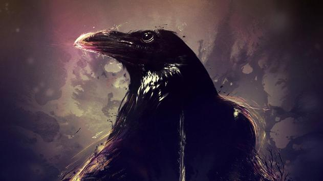 Crow Live Wallpaper apk screenshot